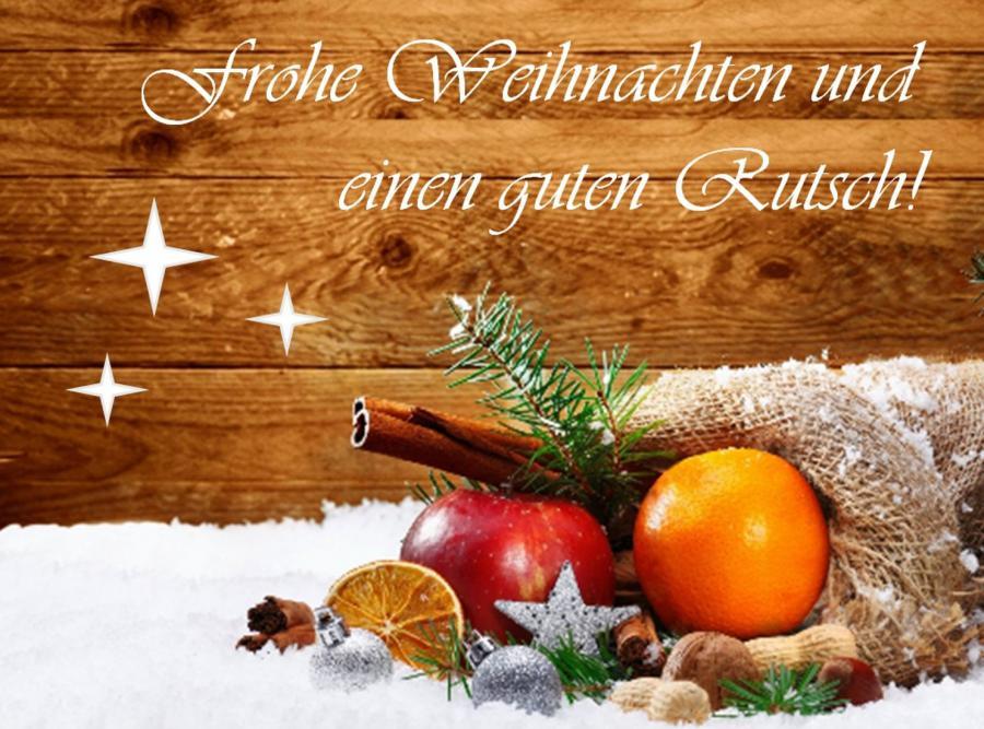 Besinnliche Weihnachten Und Einen Guten Rutsch Ins Neue Jahr.Besinnliche Feiertage